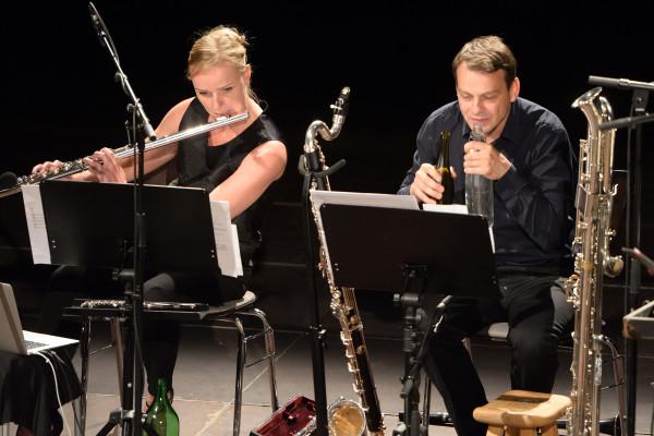 Kieler Tage fuer Neue Musik - defunensemle und Ensemble Adapter