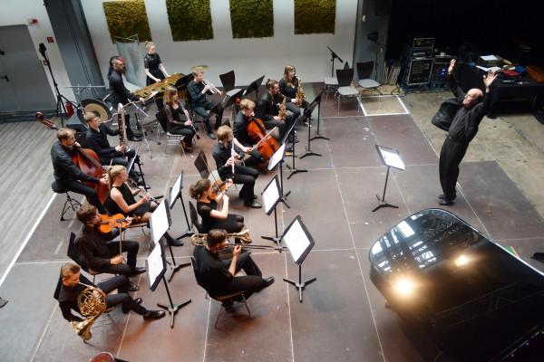 Kieler Tage fuer Neue Musik  - chiffren Ensemble und Studio Musikfabrik